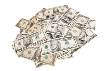 spreaded: Photo of Dollars spreaded