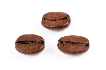 Photo of Three coffee beans photo