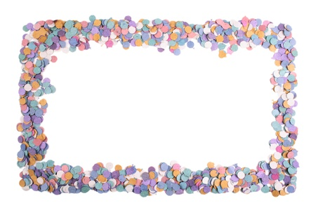 favours: Photo of Confetti frame