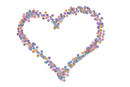 favours: Photo of Confetti love Stock Photo
