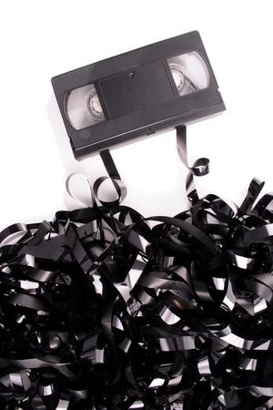 Photo of Broken video tape photo