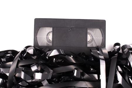 Photo of Video tape damaged photo
