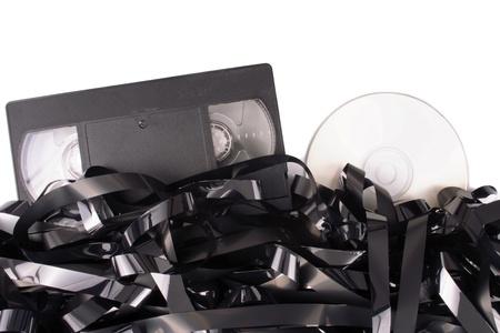 Photo of Cassete film to DVD photo