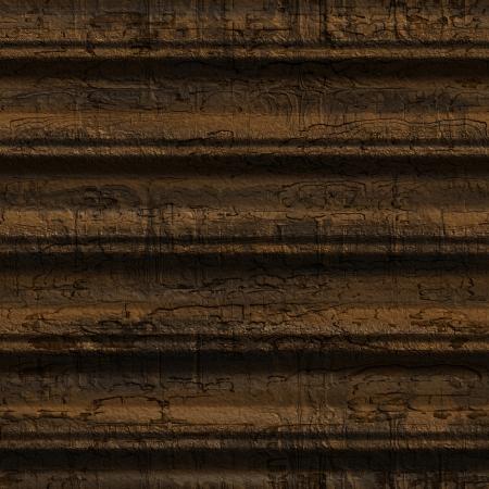 unendlich: Dies ist eine nahtlose Darstellung der rissige Holz. Es hei�t, Sie k�nnen eine Probe nebeneinander platzieren und wiederholen Sie es unendlich oder verwenden Sie es als Material f�r 3D-Szenen  Objekten. Lizenzfreie Bilder