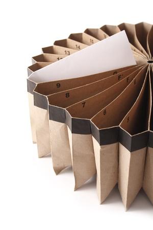 concertina: Photo of Today bill Stock Photo