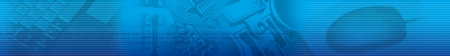 Abstract technology strip header footer
