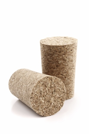 clr: Photo of Two wine corks