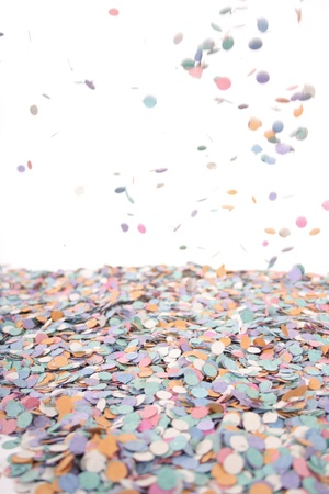 favours: Confetti for party background