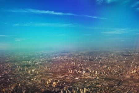 aerea: Vista áerea de São Paulo capital - Brasil  Stock Photo