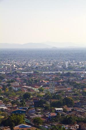 vale: Widok Iguape - Vale do Ribeira - São Paulo - Brazylia.