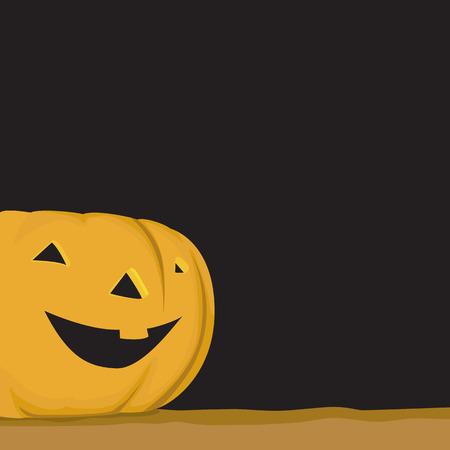 trick or treat: Halloween pumpkin illustration as vector - Trick or treat - Tip or Trick.