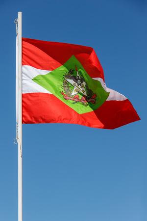 flagging: Flag of Santa Catarina state in Brazil
