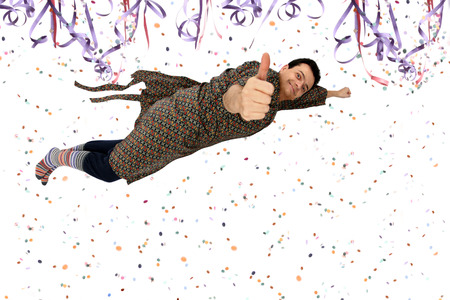 sleepwalker: Getting high or flying to a Carnival Party or Dreaming with carnival time - Thumbs up.