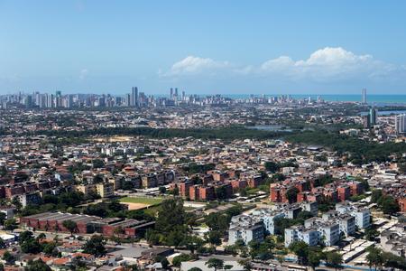 Aerial view of Pernambuco - Brazil Imagens