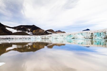 Svalbard glacier North Pole