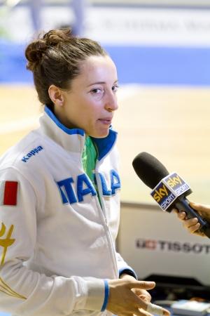Elisa di Francisca, Olympic gold medal fencing