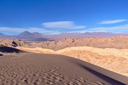 Nice view of the Moon Valley in the Atacama desert.