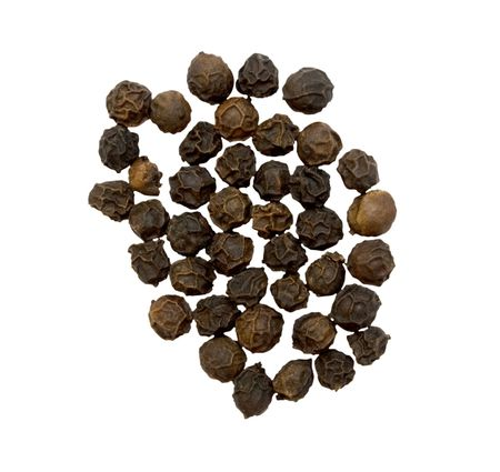 black pepper group isolated Stock Photo - 6421432