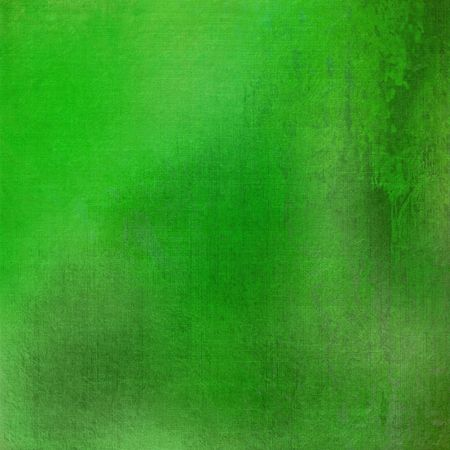 Fresh green grunge stained textured background with text space photo
