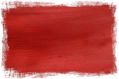 contoured: cuadro de papel de coco contorneada rojo de grunge