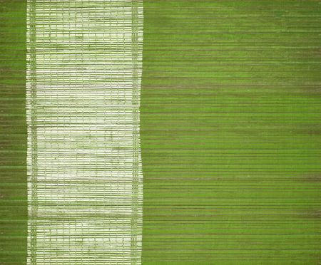 White grunge bar on green grunge wood slats Stock Photo - 6587052