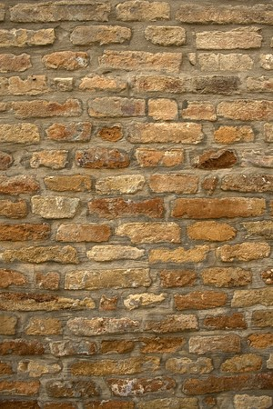 morter: Ancient grungy wall Stock Photo
