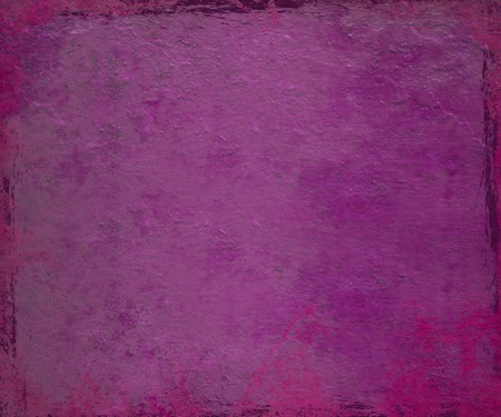 hues: Purple and pink paintdrip plaster with grunge frame background