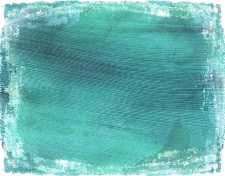 washed: Washed light blue grunge coconut paper box