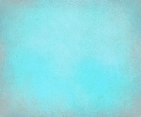 Pale blue antique paper with lightened edge Stock Photo