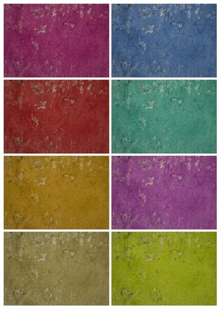 holey: Colorful holey grunge wall set with text space