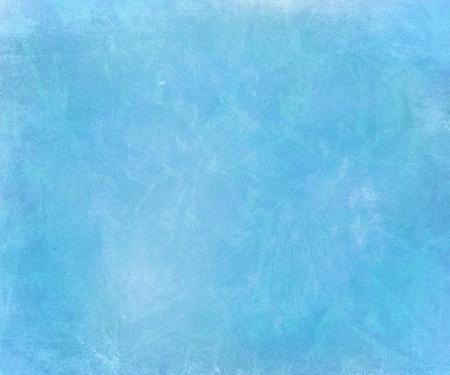 Blue sky chalk smudged handmade paper textured background  Standard-Bild