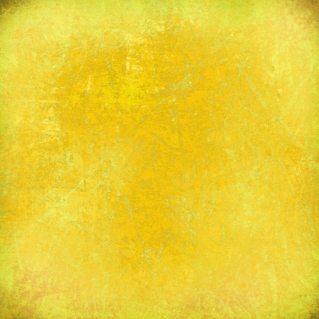 Lemon yellow grunge scratched textured background Stock Photo - 7913252