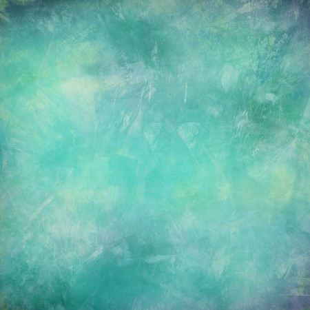aquamarin: Grunge-Wasser und Passfeder texturierte abstract