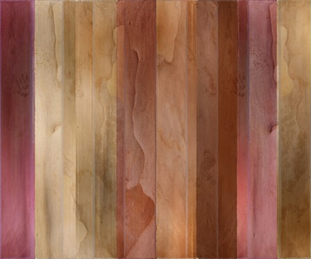 Guava wood and watercolor textured striped background photo