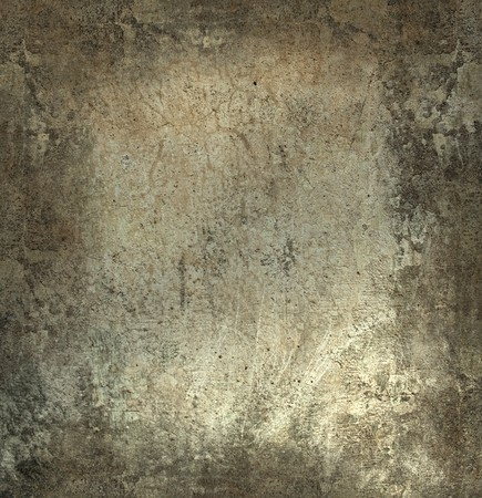 Grunge wall with frame textured background with text space photo