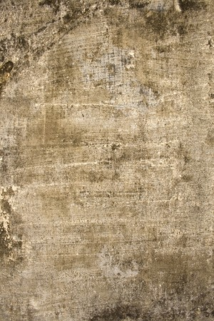 Aged roughly plastered wall with copy space  Standard-Bild