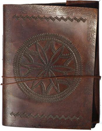 Old leather portfolio photo