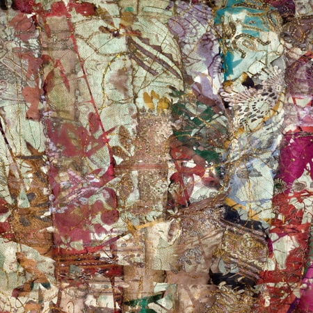 Colorful indian patchwork textured art abstract background photo