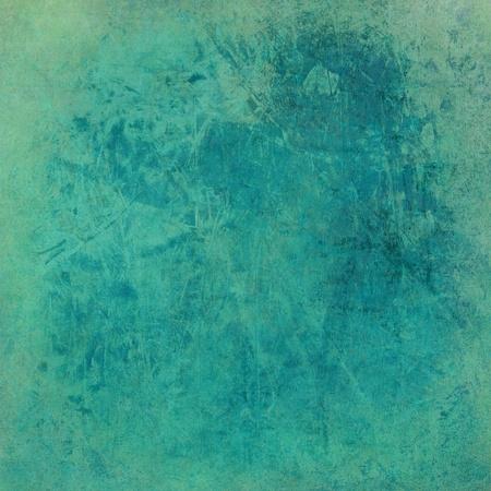 grunge edge: Washed blue grunge textured background print on paper Stock Photo