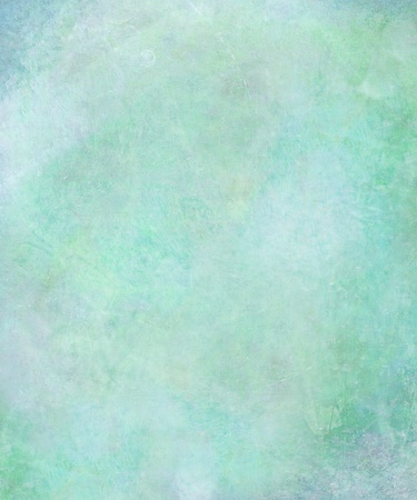 Watercolor washed textured abstract in pale sea colors