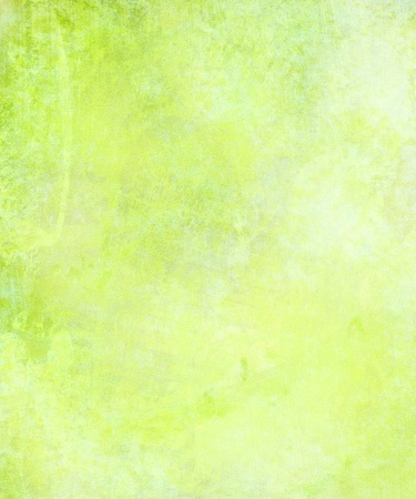 green and yellow: Cloudy watercolor wash textured abstract background Stock Photo