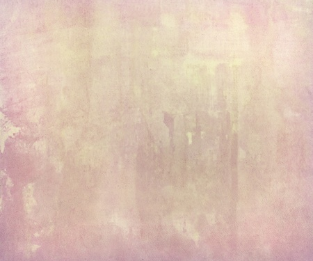 pastel background: Pink pale watercolor wash on handmade paper Background