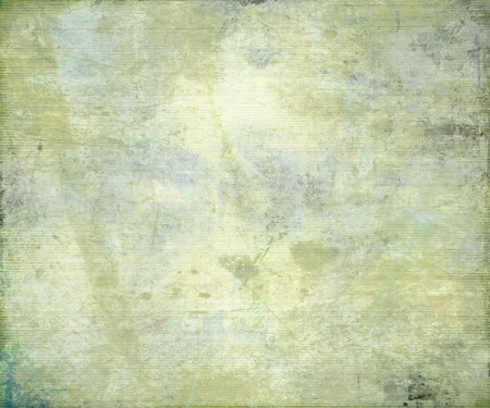 pale: Grunge Ribbed Bamboo Paper Background with Text Space Stock Photo