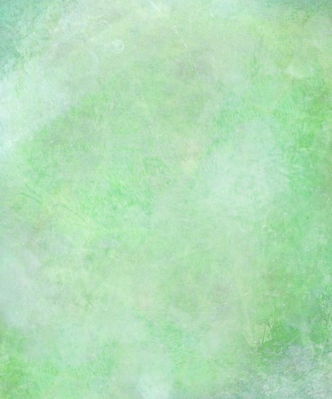 Watercolor Washed Textured Abstract Background in Green photo