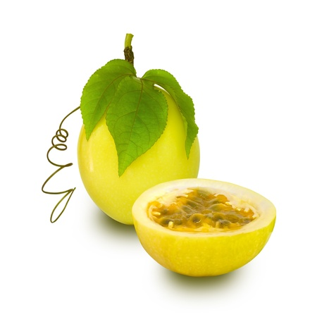 Yellow Passion Fruit  Stock Photo - 8849125