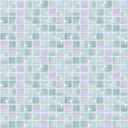 Image of a Pearly Blue Opal Mosaic seamless  photo