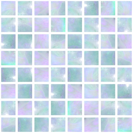 Image of a Blue Opal Mosaic seamless photo