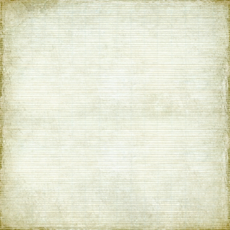 Antique Paper and Bamboo woven Background with Light Grunge Frame photo