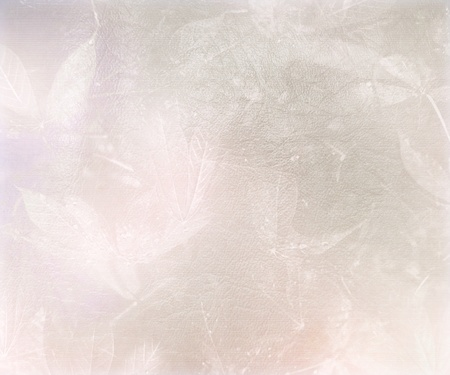 Image of Foggy Leaf Abstract Textured Background