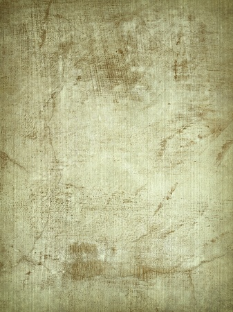 worn: Ribbed Parchment and Cracked Plaster Background